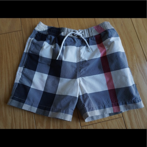 bdc7597738 Burberry Other - Burberry Jeffries Check Swim Trunks (authentic)
